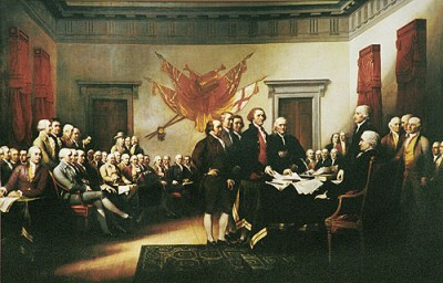 John Trumbull's 'Declaration of Independence'