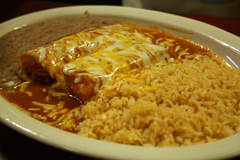 Enchiladas With Rice And Beans The Lincolnite Blog: L...